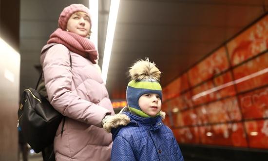 Многодетные семьи Москвы смогут бесплатно ездить в общественном транспорте